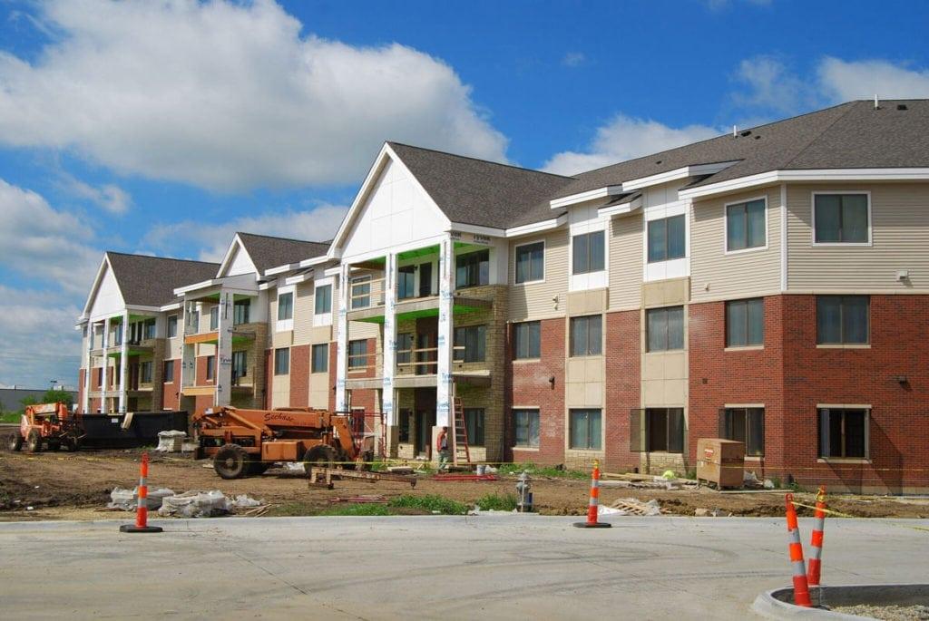 Prairie Wind Independent Living Under Construction